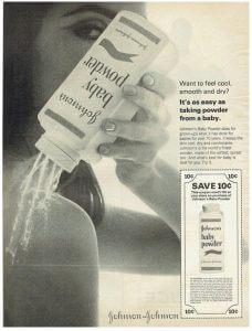 The History Of J Amp J S Baby Powder L Consumer Advocacy News